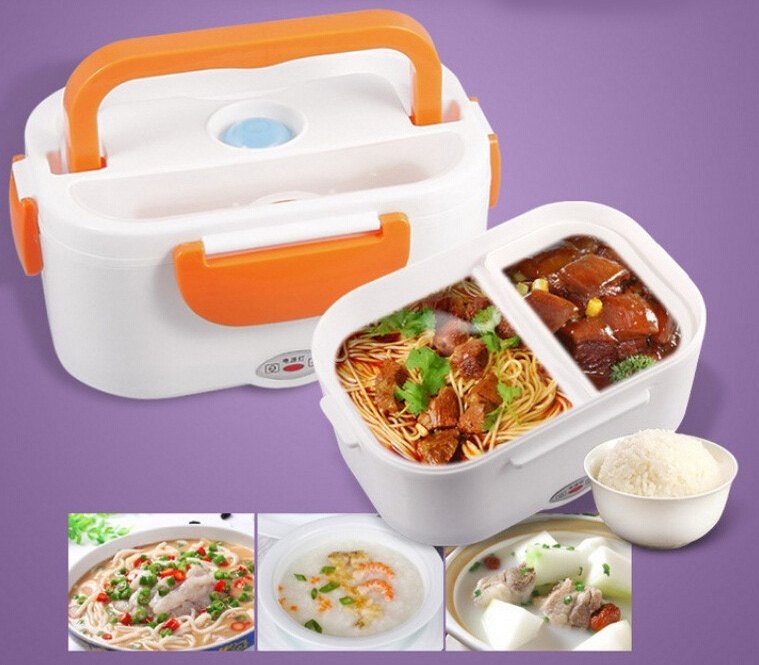 2016-new-Car-Plug-Heated-Lunch-Box-12-V-Electric-Heating-Lunchbox-Food-Warmer-Car-Truck