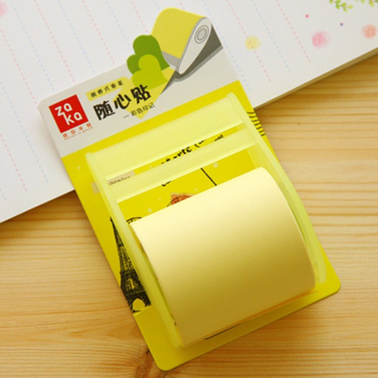 HO5021W - Sticky Memo Note Roll Scratch Pad