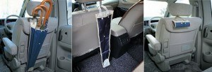 Car Umbrella Pocket Holder - Kantong Gantungan Payung di Mobil