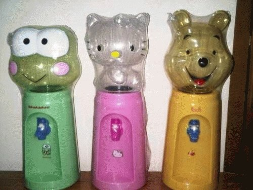 Dispenser Galon Mini Air Karakter Lucu Hello Kity Doraemon Rilakuma Reseller Dropship barang unik china fancy ok