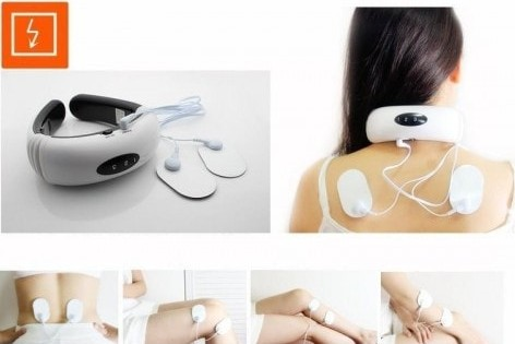 Neck Massager KL 5830 Pijat Leher Terapi Phyotherapeutic Instrument
