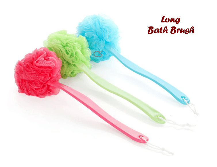 Long Bath Brush (Sikat pembersih badan model panjang)