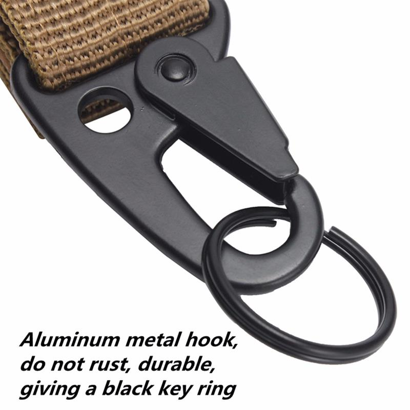 Quickdraw Carabiner Military Tactical Nylon Belt