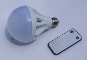 led bohlam remote