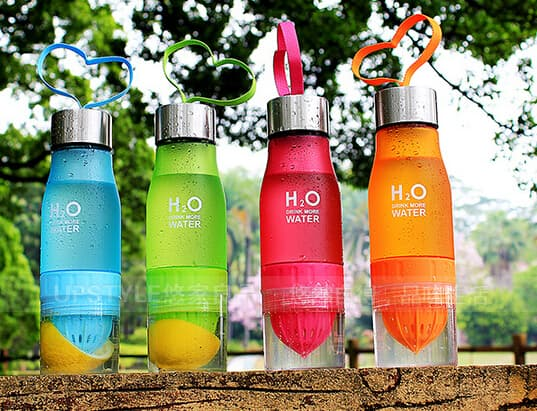 BOTOL H2O Infusing Water Bottle - Botol Minum Infuser