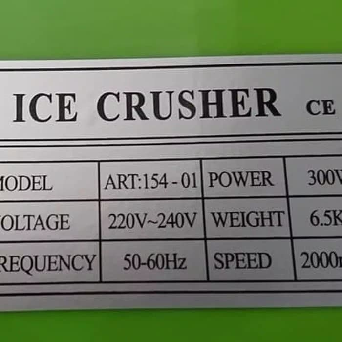 Mesin serut Es batu NANKAI Ice Crusher
